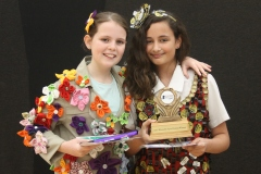 Eden and Bethany who entered the recycled nature category
