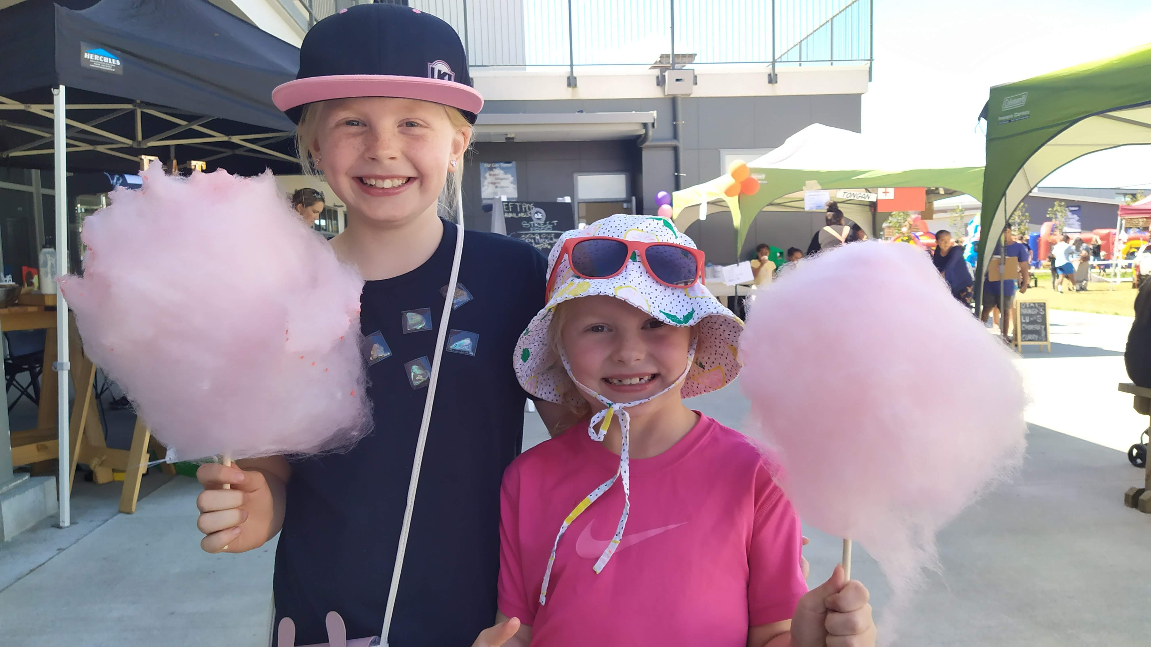 Big Candy-floss means big smiles.