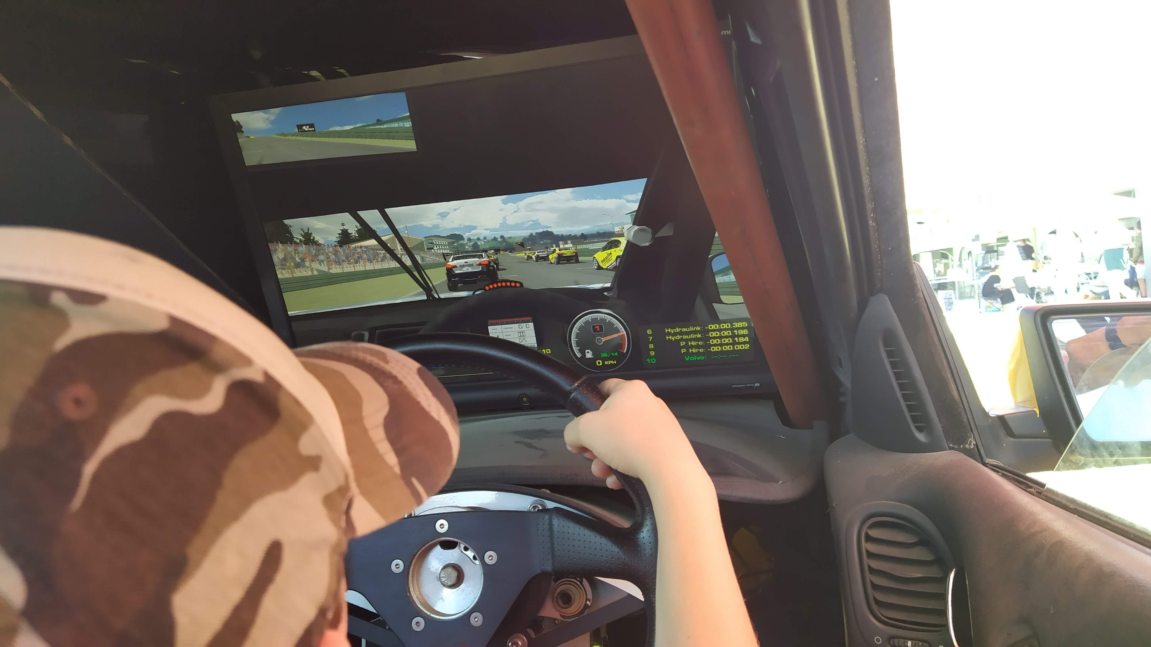 Driving Simulators go fast