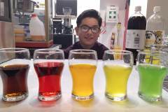 Nathan offers a range of drinks