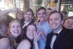 Selfies at the junior social