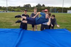 Cameron makes high jump look easy
