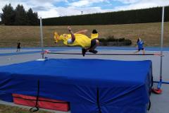 How high can a banana jump?