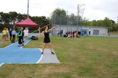 Abby at the Javelin