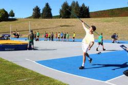 Reuben Raises Regional High Jump Bar