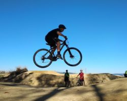 Cross Country Invaded by BMX Bikes