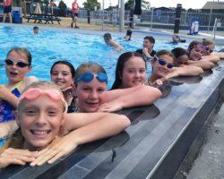 Issachar Three-Peat at Swimming Sports