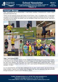 Newsletter Term 4 Week 6