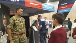 Fish, Fire Engines, and Free Stuff at Careers Fair