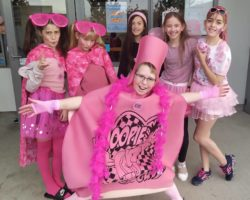 Pink Shirts, Biscuits, Faces at Pink Shirt Day